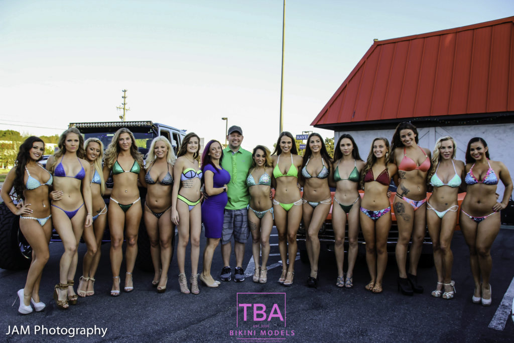 TBA Bikini Models - St. Patricks Day 2017 Bikini Contest at Winners Circle Lakeland