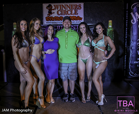 TBA Bikini Models - St. Patricks Day 2017 Bikini Contest at Winners Circle Lakeland