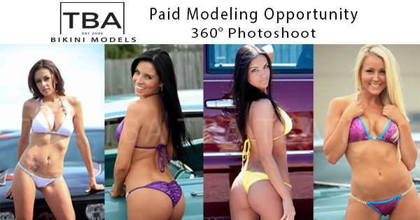 TBA Bikini Models 360 Videography Paid Photoshoot