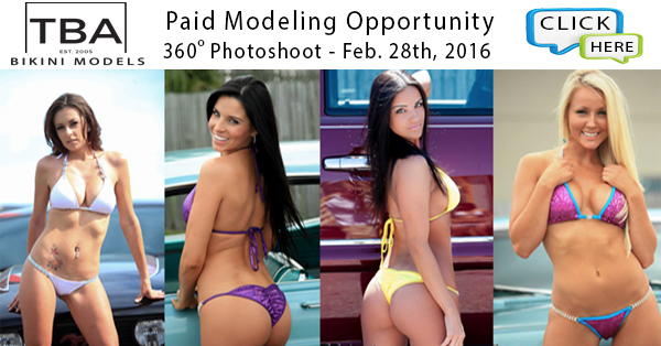 TBA Bikini Models Paid Opportunity
