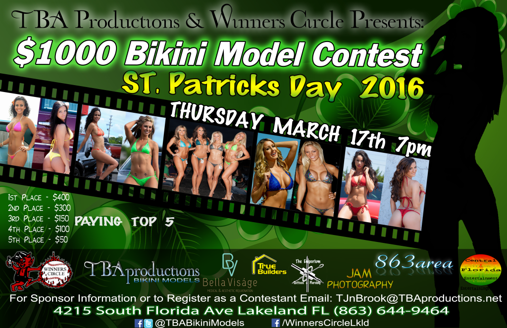 St. Patricks Day 2016 - Bikini Contest